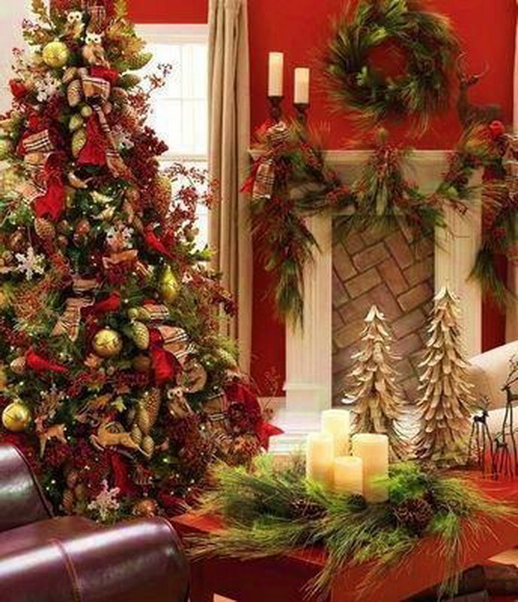 Amazing Red Interior Designs For The Holidays_44