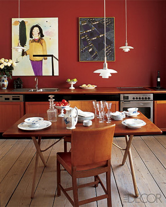 Amazing Red Interior Designs For The Holidays_55