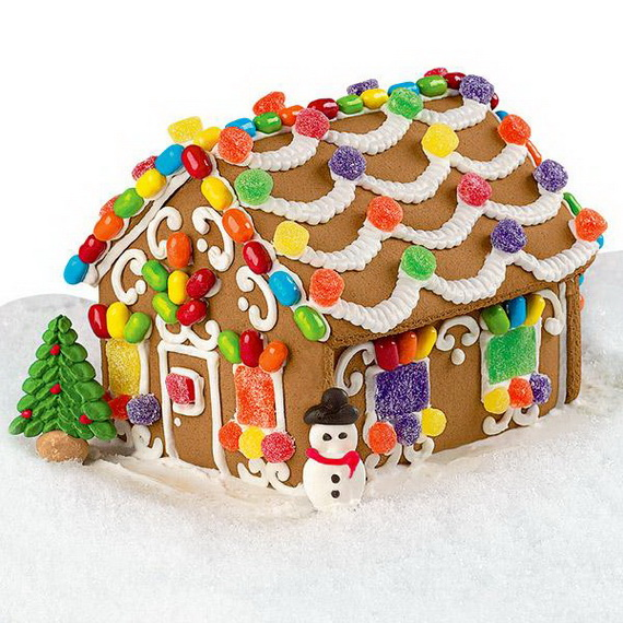 Amazing Traditional Christmas Gingerbread Houses