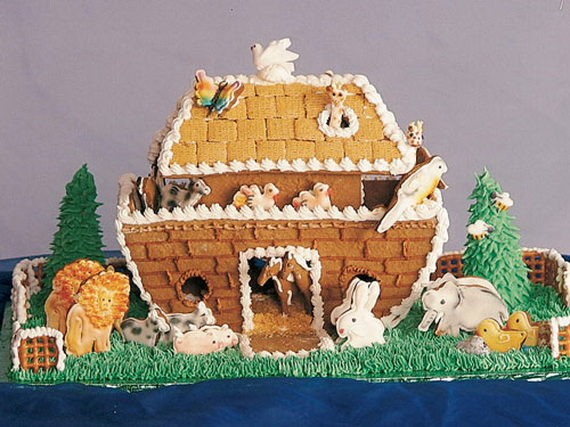 Amazing Traditional Christmas Gingerbread Houses_04