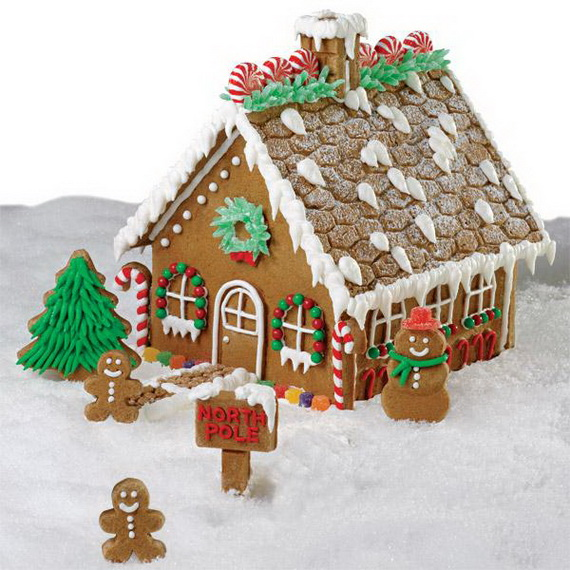 Amazing Traditional Christmas Gingerbread Houses_05