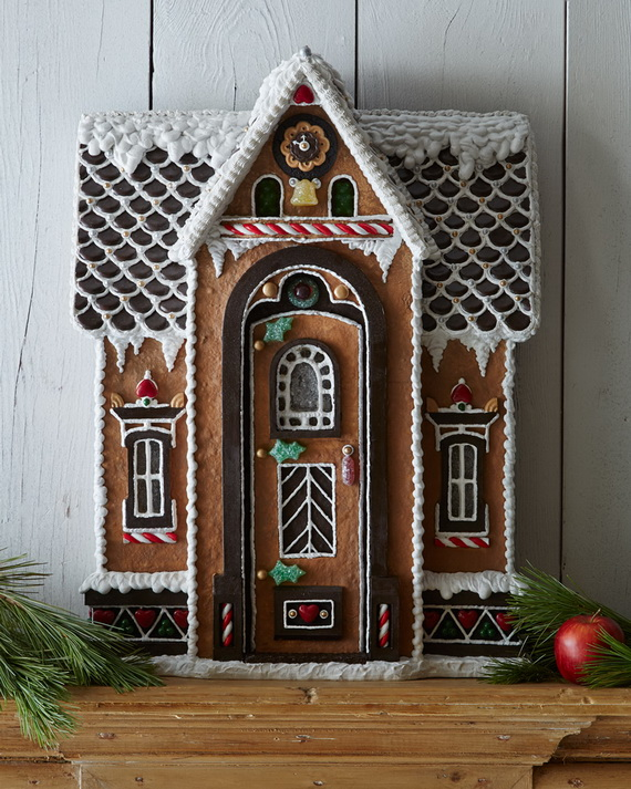 Amazing Traditional Christmas Gingerbread Houses_42