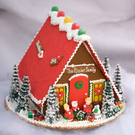 Amazing Traditional Christmas Gingerbread Houses_54