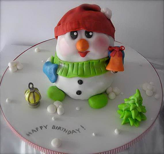 Awesome Christmas Cake Decorating Ideas _04