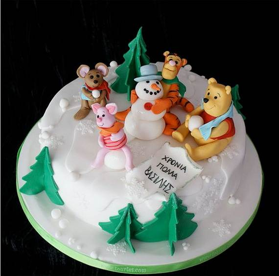 Awesome Christmas Cake Decorating Ideas _06