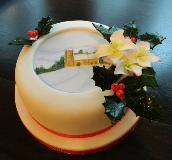 Awesome Christmas Cake Decorating Ideas _14