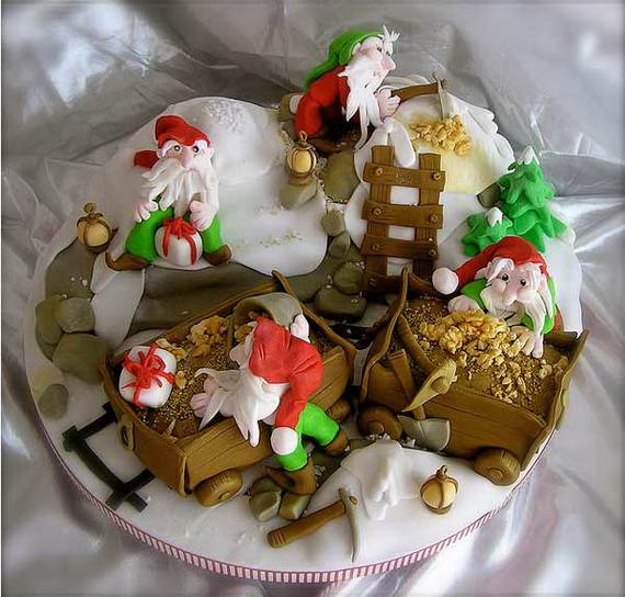 Awesome Christmas Cake Decorating Ideas _18