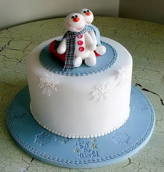 Awesome Christmas Cake Decorating Ideas _24