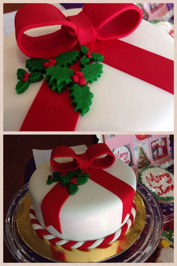 Christmas Cake Design Pictures : 1000+ images about Christmas cakes on Pinterest ...