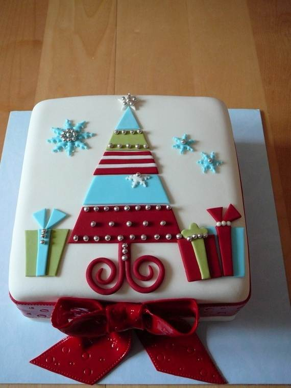 Awesome Christmas Cake Decorating Ideas _33