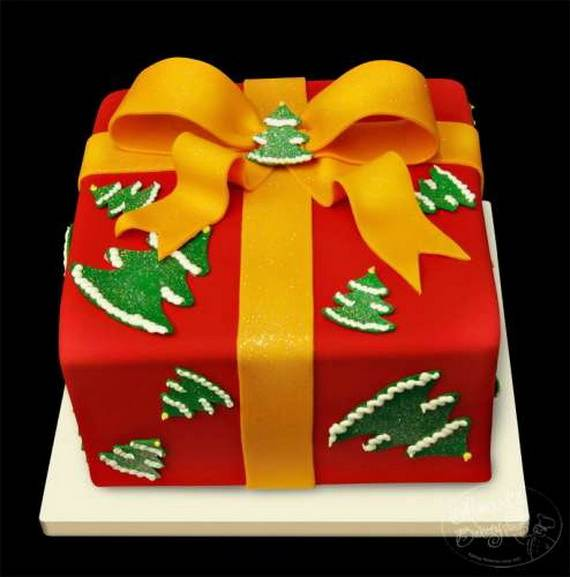 Awesome Christmas Cake Decorating Ideas _36
