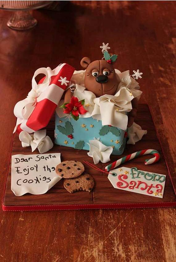 Awesome Christmas Cake Decorating Ideas _37