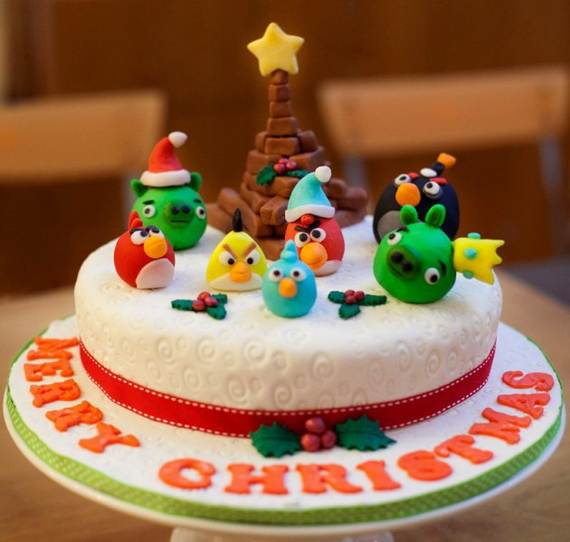 Awesome Christmas Cake Decorating Ideas _40