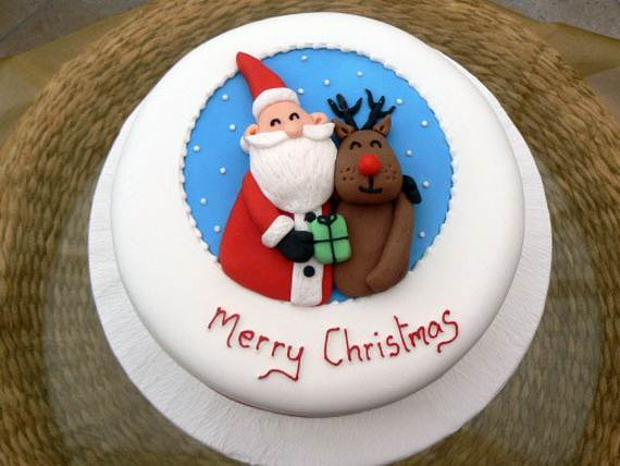 Awesome Christmas Cake Decorating Ideas _41