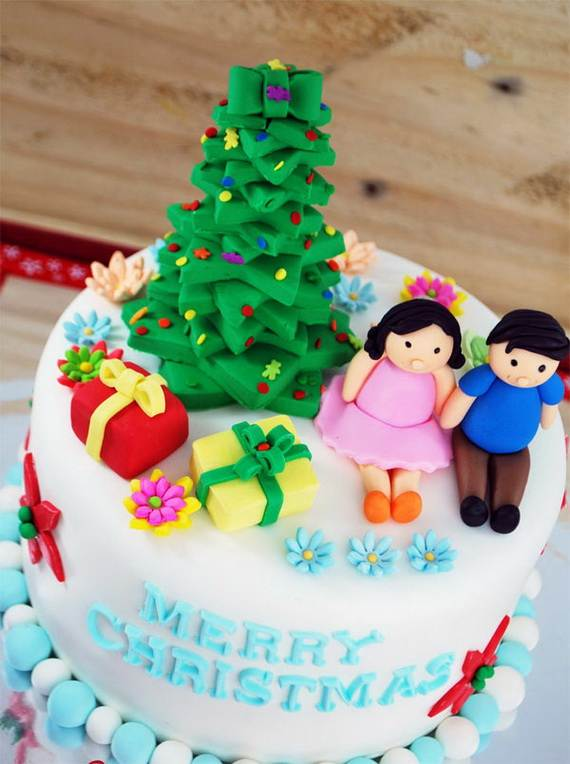 Awesome Christmas Cake Decorating Ideas _43