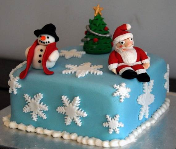 Awesome Christmas Cake Decorating Ideas _44