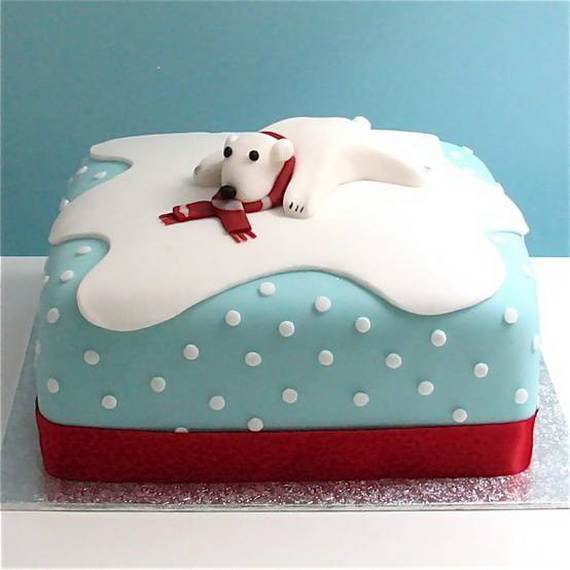 Awesome Christmas Cake Decorating Ideas _48