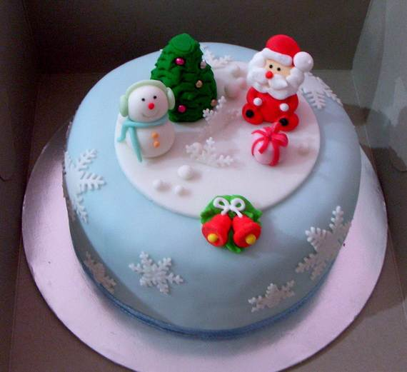 Awesome Christmas Cake Decorating Ideas _51