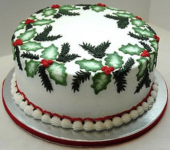 Cake Decorating Images : Awesome Christmas Cake Decorating Ideas