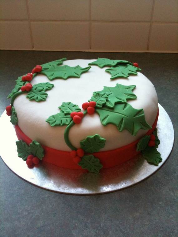 Awesome Christmas Cake Decorating Ideas _73