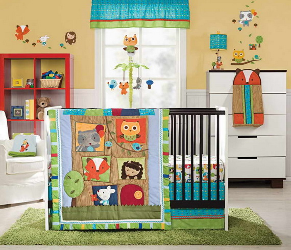 Baby Bedding and Crib Theme and Design Ideas_18
