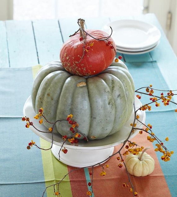 Beautiful Thanksgiving Fall Table Settings And Centerpiece Decor Ideas To Make _03