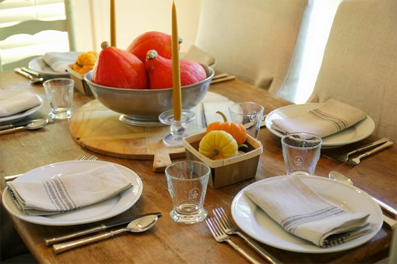 Beautiful Thanksgiving Fall Table Settings And Centerpiece Decor Ideas To Make _09