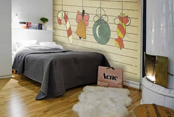 Creative Christmas Decor Ideas with Decals For a Holiday Atmosphere_21