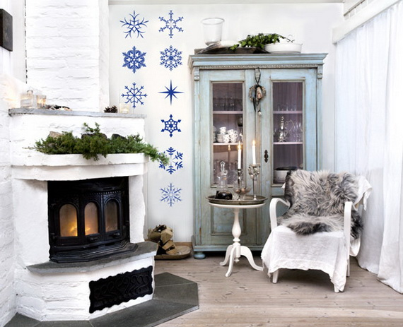 Creative Christmas Decor Ideas with Decals For a Holiday Atmosphere_58