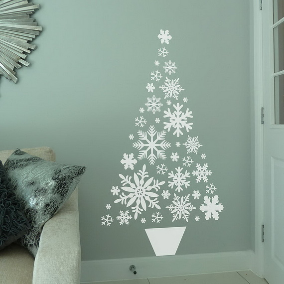 Creative Christmas Decor Ideas with Decals For a Holiday Atmosphere_90