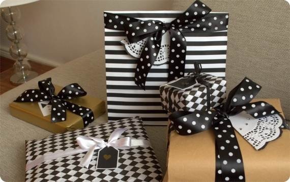 Cute And Incredibly  Christmas Gifts Wrapping Ideas (94)