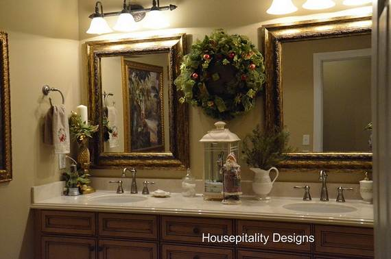 Christmas deco for the bathroom on pinterest decorating for Cute bathroom ideas decorating