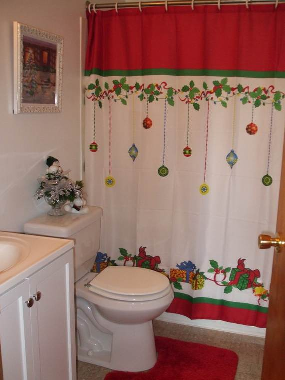... Cute Bathroom Decorating Ideas For Christmas2014 7 ...
