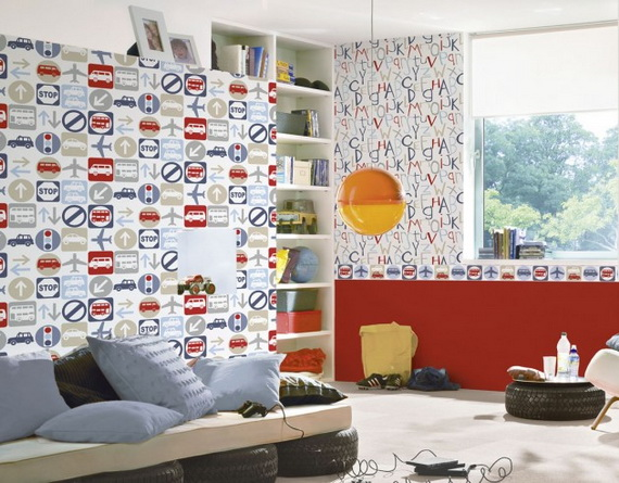 Cute and Fun Kids Wallpaper Designs111