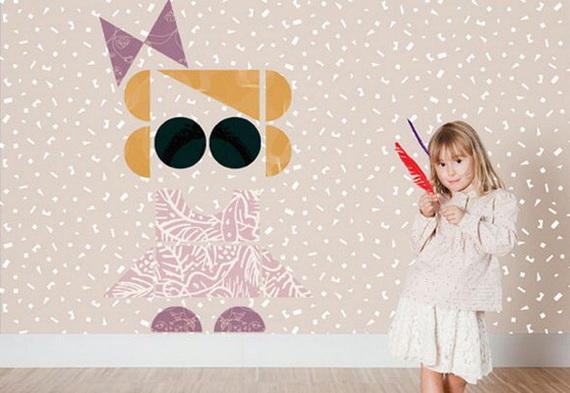 Cute and Fun Kids Wallpaper Designs_08