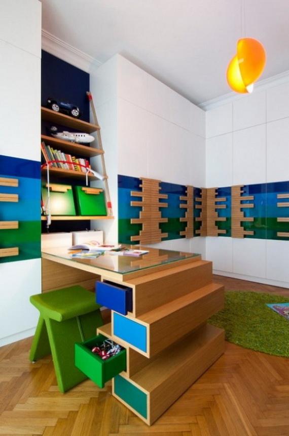 Inspirational Design Ideas for Kids Desks Spaces _03 (2)