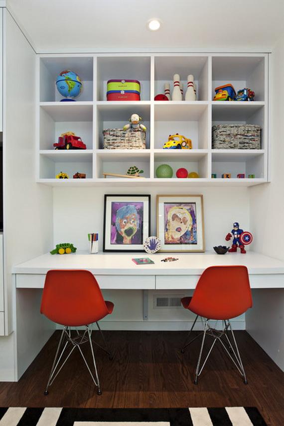 Inspirational Design Ideas for Kids Desks Spaces _03 (3)