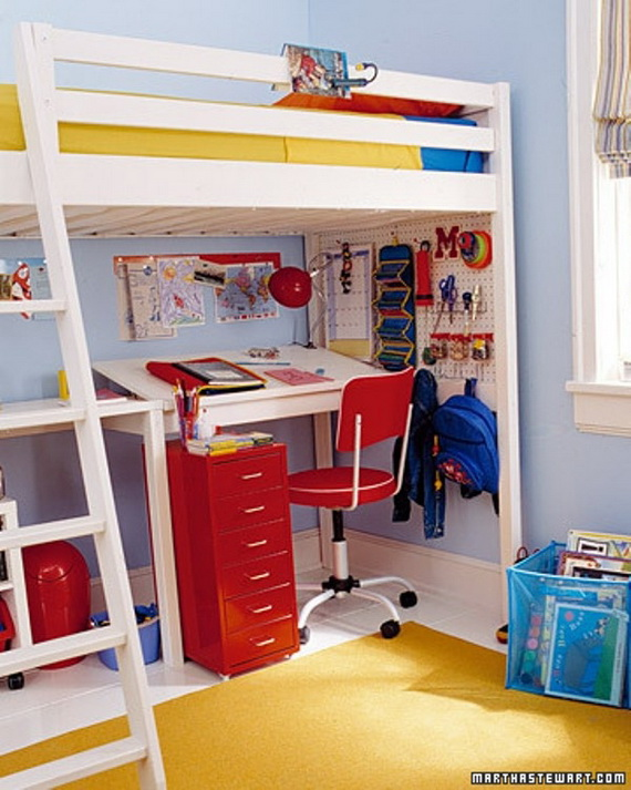 Inspirational Design Ideas for Kids Desks Spaces _03 (5)