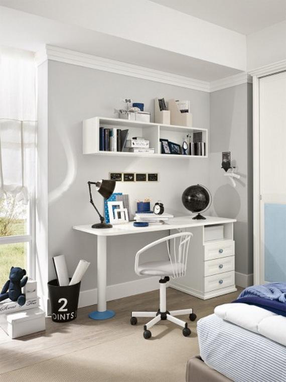 Inspirational Design Ideas for Kids Desks Spaces _03
