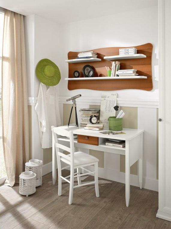 Inspirational Design Ideas for Kids Desks Spaces _04