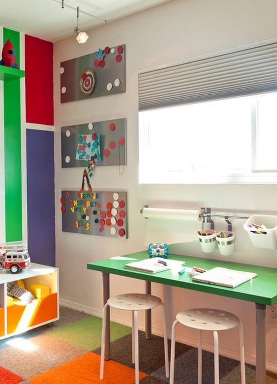 Inspirational Design Ideas for Kids Desks Spaces _05 (4)