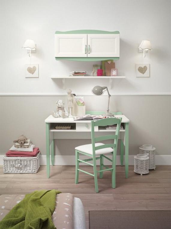 Inspirational Design Ideas for Kids Desks Spaces _05