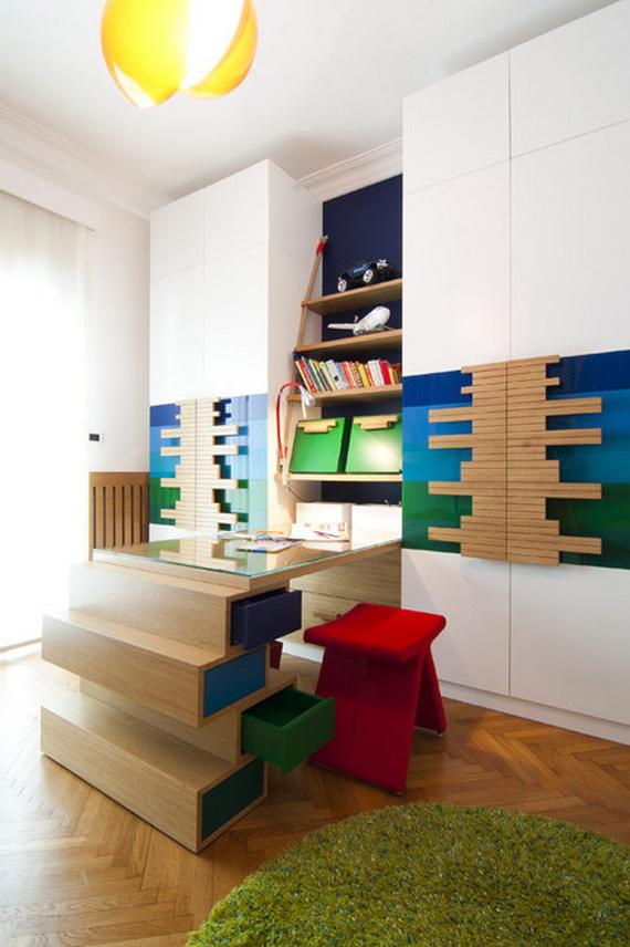 Inspirational Design Ideas for Kids Desks Spaces _08 (4)