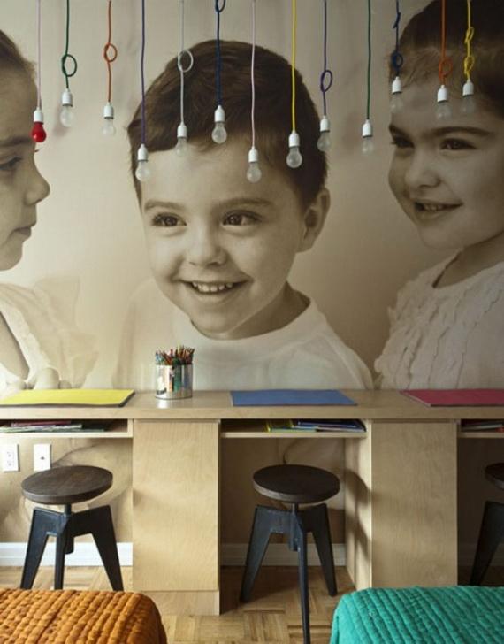 Inspirational Design Ideas for Kids Desks Spaces _10 (2)
