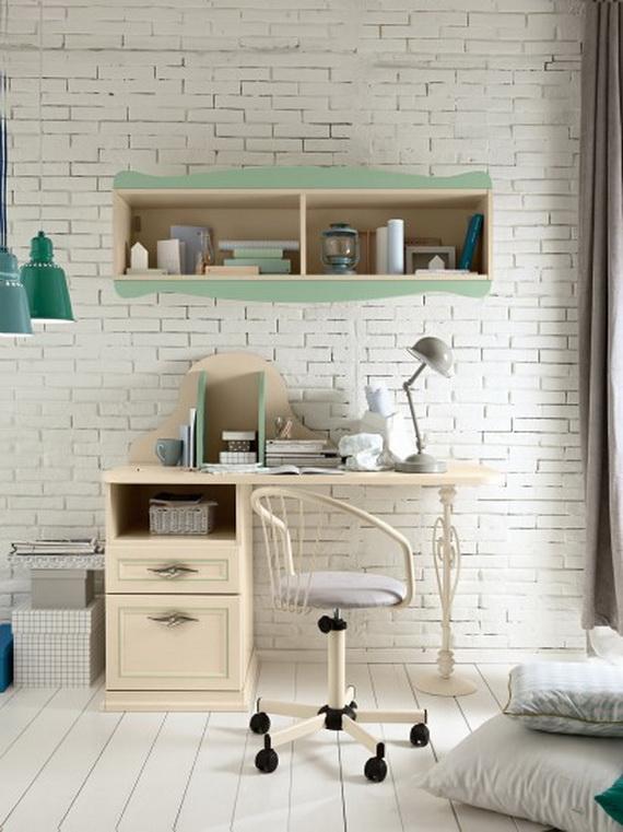 Inspirational Design Ideas for Kids Desks Spaces _12