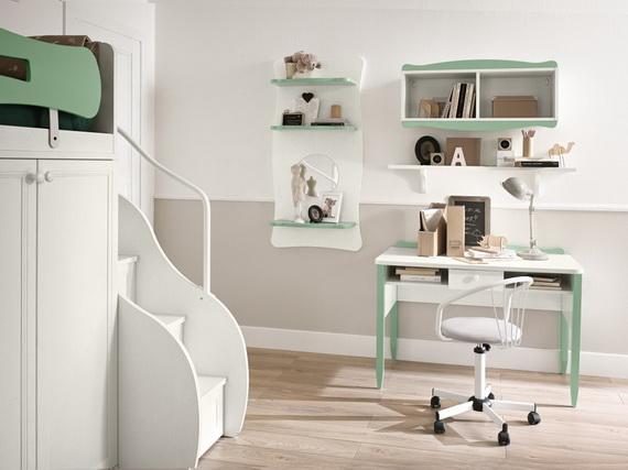 Inspirational Design Ideas for Kids Desks Spaces _13