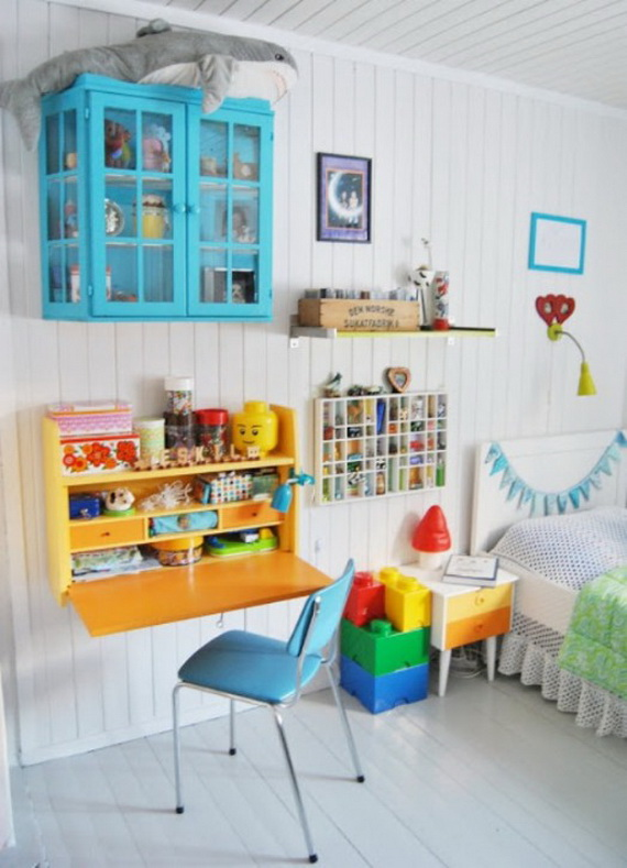 Inspirational Design Ideas for Kids Desks Spaces _14 (2)