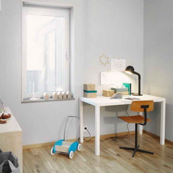 Inspirational Design Ideas for Kids Desks Spaces _19