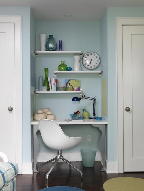 Inspirational Design Ideas for Kids Desks Spaces _30 (2)