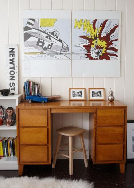 Inspirational Design Ideas for Kids Desks Spaces _30